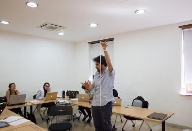 ورشات عمل معهد التصميم - عمّان