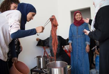 Textiles and Dyeing Workshop