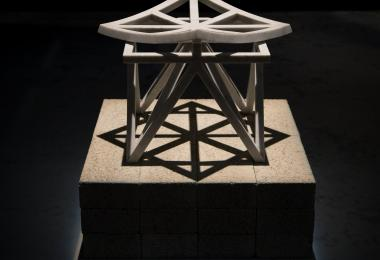 Unfolding Unity Stool: Marble Edition, 2016