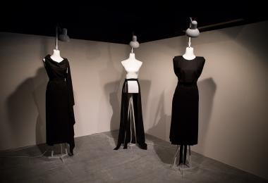 (left to right) Rectangular Dress, Skirf, T-Wrap Dress