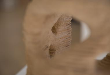 "Prototype of the Pavilion ""Cocoon"" - Sand 3D printing"