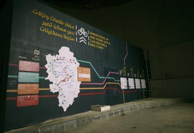 Amman Cycling Map (2017)