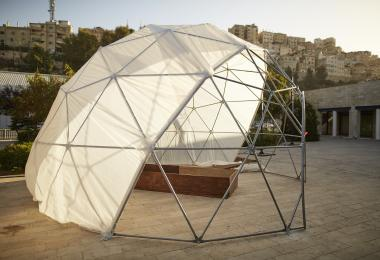 Geodesic Greenhouse Dome, 2019