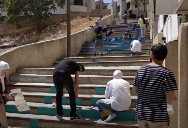 Amman Design Week Calligraphic Steps