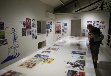 Comics at the Hangar Exhibition